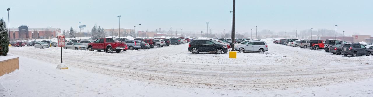 Snowy Day North Canton Ohio