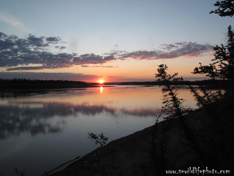 Yukon River.  Yukon Flats National Wildlife Refuge, AK.