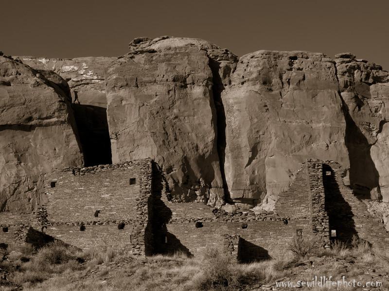 Chaco Canyon, New Mexico.