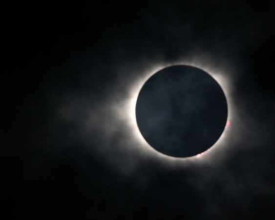 The Total Eclipse on Aug.21, 2017
