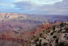 AZ-GCNP2017.11.29#218. A view in Grand Canyon Park, Arizona.