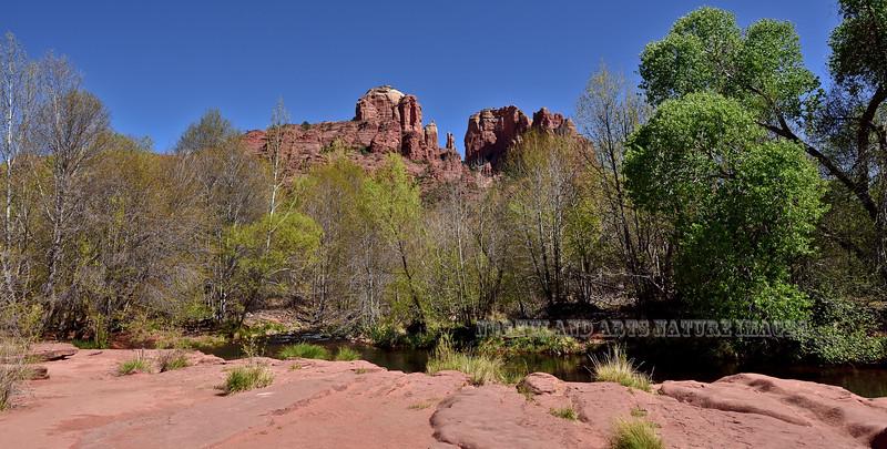 AZ-2018.4.17#198. Cathedral Rock on Red Rock Creek, Yavapai County Arizona.