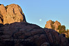 AZ-2018.1.24-Moon setting. The Dells, Prescott, Arizona. #011.