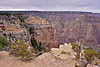 AZ-GCNP2017.11.29#270. A view in Grand Canyon Park, Arizona.