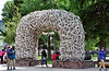 WY-2019.6.21#1846.2. The new Elk Horn Arch in Jackson Hole Wyoming.
