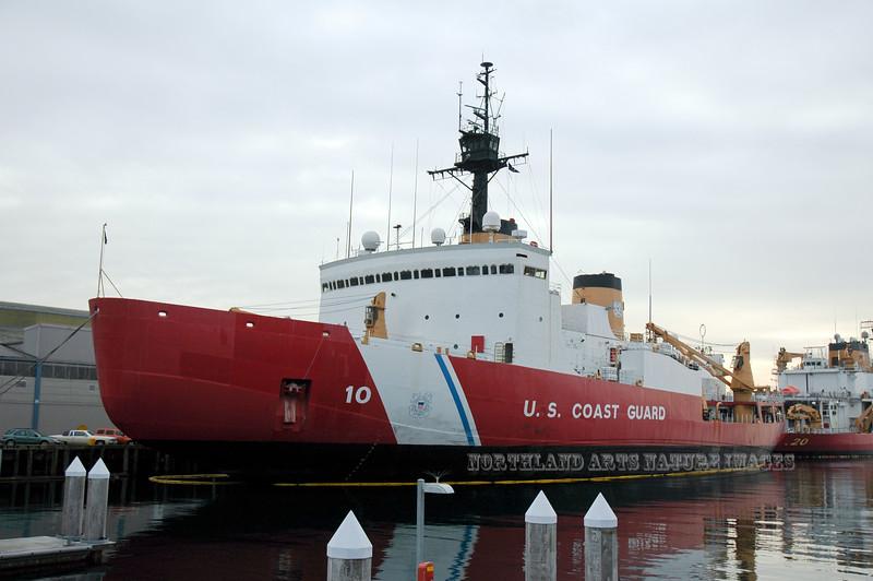 WA-2007.11.6#228.4. US Coast Guard Cutter Polar Star. Seattle Washington.