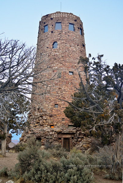 AZ-GCNP2017.11.29-The Watch Tower at Desert View. Grand Canyon Nat. Park, Arizona. #043.