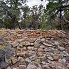 AZ-GCNP, Tusayan ruins, storage rooms. Grand Canyon, Arizona. #1129.242.