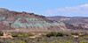 "UT-2018.7.9#5073. The ""Blue Green Hills"" of Moab. Blue green Jurassic rock of the Morrison formation near or associated with a number of the uranium deposits in the Moab area in Utah."
