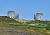 AK-SPa-2015.6.21#001.2X. White Alice Tropospheric Antennas. Anvil Mountain Nome. Seward Peninsula Alaska.