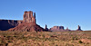 AZ-MVNP, Monument Valley, West Mitten Butte. Arizona/Utah. #105.097.