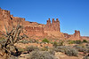 UT-ANP2017.10.6-The Three Gossips and the Sheep Rock. Arches Nat. Park Utah. #118.