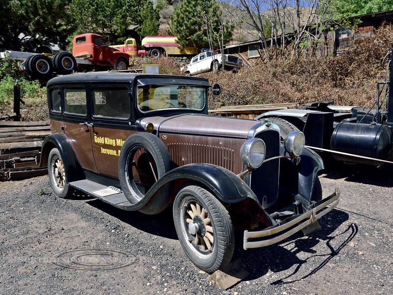 AZ-Gold King Mine-2018.4.17#002.3. 1928 to 1931 Dodge Touring Car. Jerome Arizona.
