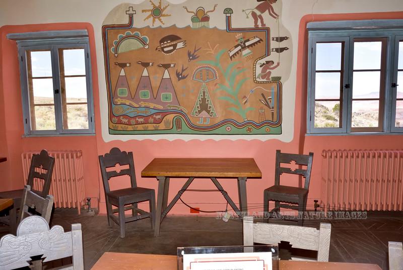 AZ-PFNP2017.10.11#864. Painted Desert Inn. Petrified Forest Park, Arizona.