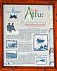AK-AVM-2007.5.18#0044.2. Interpretive sign for the battle of Attu. Alaska Veterans Memorial Grove in Denali State Park, MP 147.2 Route 3 (Parks Highway) Alaska.