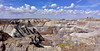 AZ-PFNP2017.9.17#732. Blue Mesa. Petrified Forest National Park, Arizona.
