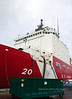 WA-2007.11.6#199.2. US Coast Guard Cutter Healy (WAGB 20). In it's home port 1519 Alaska Way, Seattle Washington.