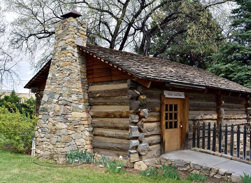AZ-SH6-2018.4.1#057.2. Fort Misery, Sharlot Hall Museum, Prescott Arizona.