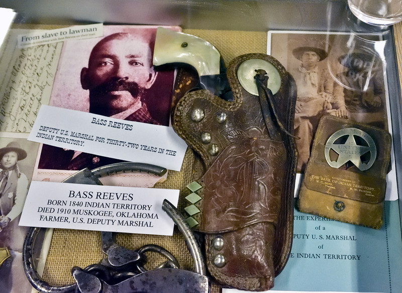 AZ-GFM-2018.10.8#012.2. Bass Reeves, a real American Hero. Gun Fighter's Museum, Tombstone Arizona.