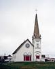 AK-SPn,b-2001.6#5117.3. The Old Saint Joseph's Catholic Church. Now a Town Hall in Anvil City Square. Nome, Seward Peninsula Alaska.