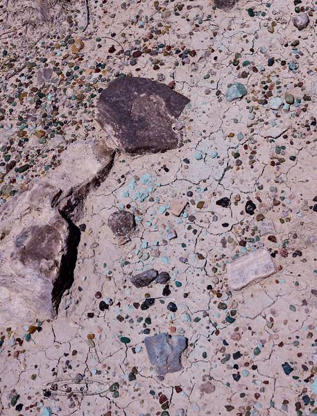 UT-2018.7.9#5759. The Blue Green Hills of Moab. Blue green Jurassic rock of Morrison formation near Moab Utah.