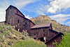 ID-2015.5.25#267.3. The Stamp mill of the Bayhorse Silver mine on Bayhorse Creek off the Salmon River Idaho. A must see place if your at all interested in Mines, History or Landscape of the west.