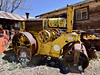 AZ-Gold King Mine-2018.4.17#025.3. A 1923 Buffalo Springfield engine in a road roller. Gold King Mine Jerome Arizona.