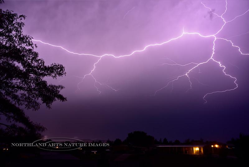 AZ-2017.7.29-Monsoon Lightning. Prescott Valley, Arizona. #111.