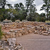 AZ-GCNP, Tusayan ruins, Grand Canyon, Arizona. #1129.240.
