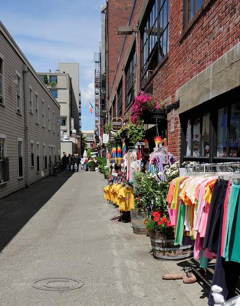 WA-2012.6.24#108.2. Shops near Pike St, Seattle Washington.