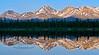 AK-2014.6.23#124-Denali country reflections. A view along the Denali Highway not far east of Cantwell. Central Alaska Range, Alaska.