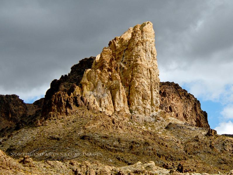 AZ-2007.2.27#0681. The Elephant Tooth. Oatman, Arizona.