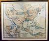 AZ-SH11-2018.4.1#079.2. United States map c1851. Sharlot Hall Museum, Prescott Arizona.