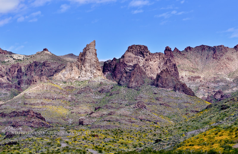 AZ-Elephant Tooth 2020.3.29#6676.7. A different view of the Elephant Tooth from near Oatman Arizona.