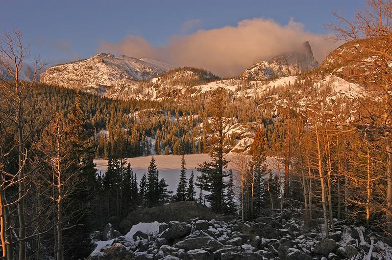 Winter Morning at Bear Lake  056