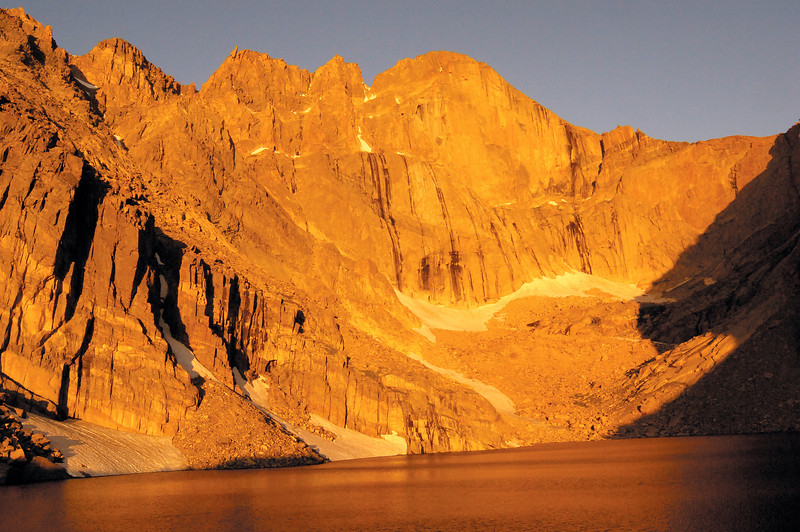 Longs From Chasm Lake
