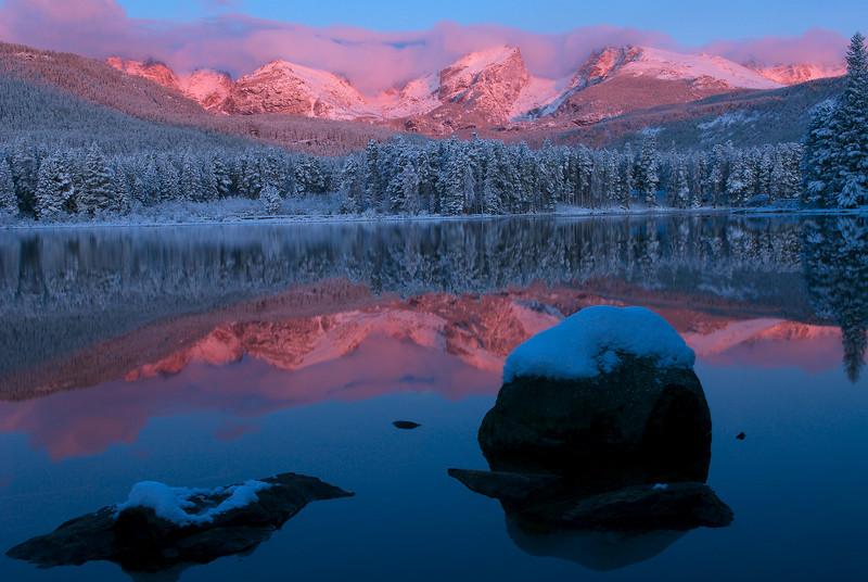 Sprague Lake Sunrise-PinkMay'07