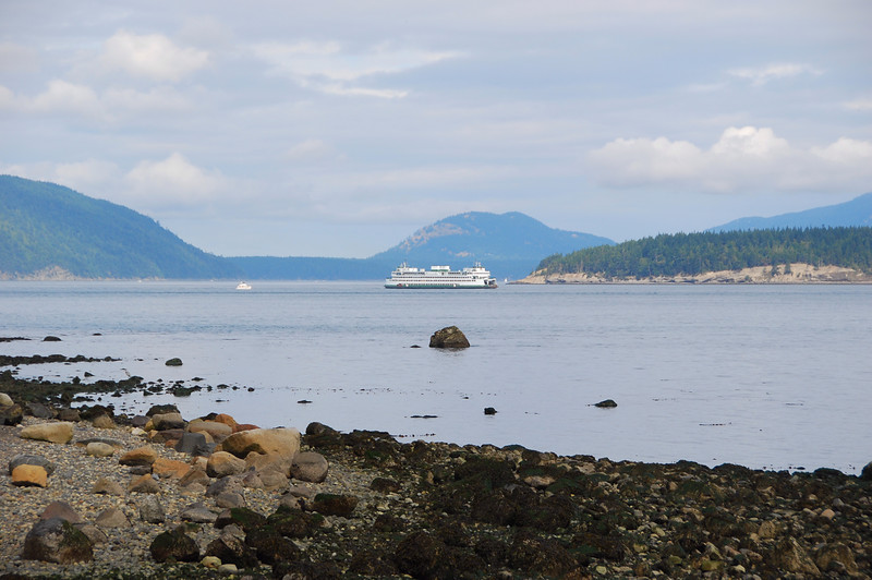 Ferry coming to Anacortes
