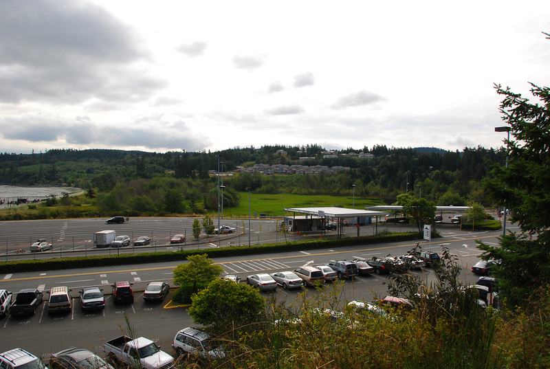 Ferry terminal parking & surroundings, Anacortes