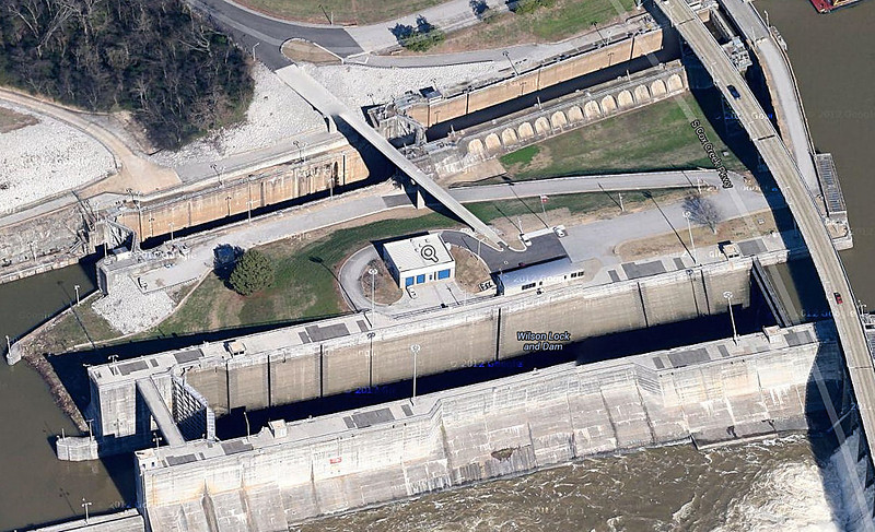 Wilson Dam locks