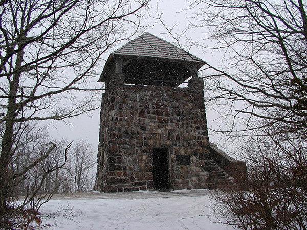 The Wayah Bald Tower, NC
