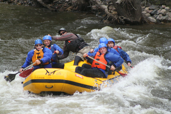 White Water Rafting Poudre River