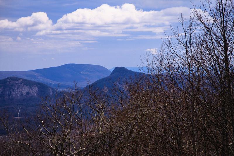 Chimneytop Mtn. center of frame