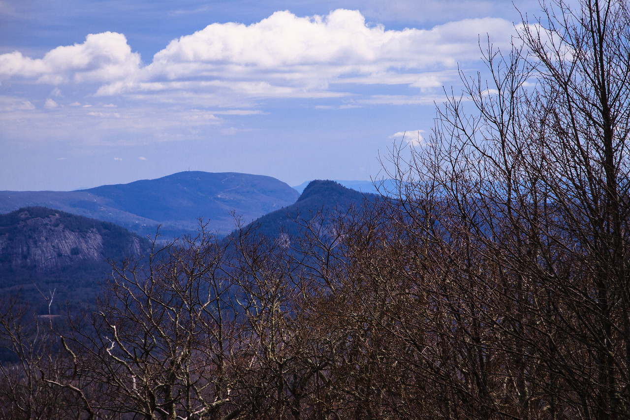 Chimneytop Mtn. center of frame