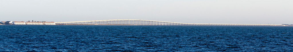 ... and head out to Aransas, past the Copano Bay Causeway.