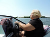Captain Doreen at the Helm!