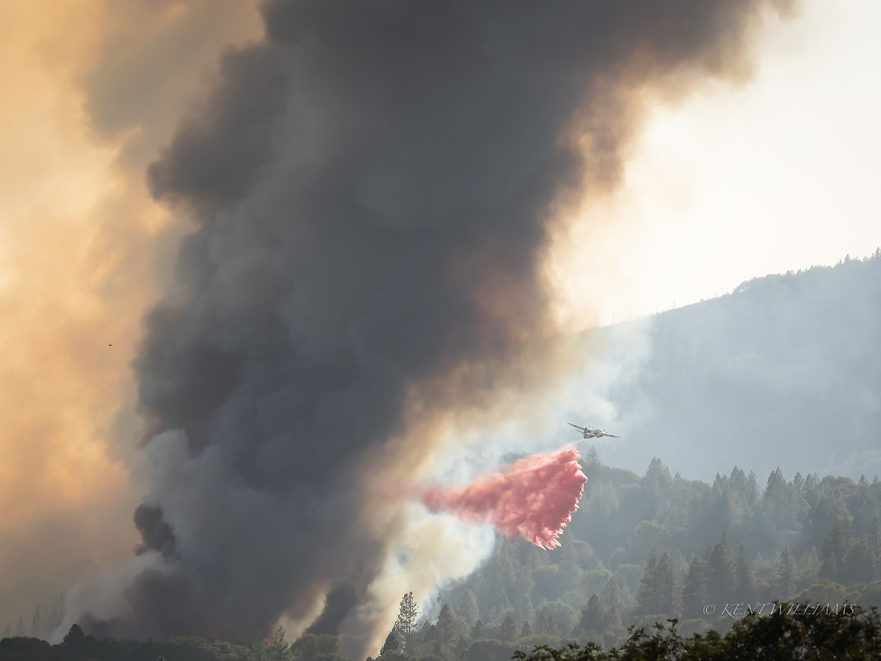 Dropping retardant
