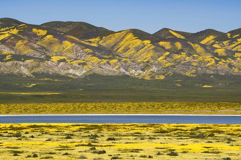 Carrizo  Plain, Soda Lake, and Temblor Range.