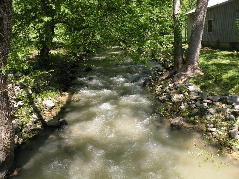 Muddy Sequatchie River