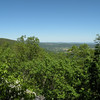 View from Donnelly's Overlook<br /> Cumberland Trail Brady Mtn TN